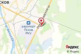 Памятник Красной Армии в Крестах карта Псков