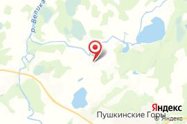 Воронич (городище) карта