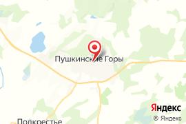 Святогорский свято-Успенский монастырь карта