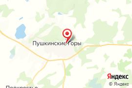 Петровское карта Псков