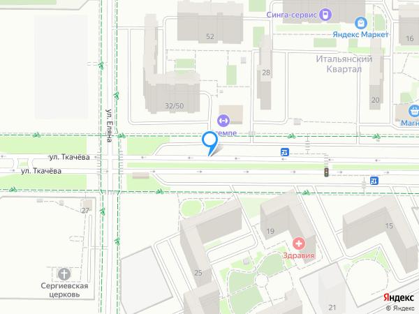 Карта объекта ЖК «Левенцовка парк»