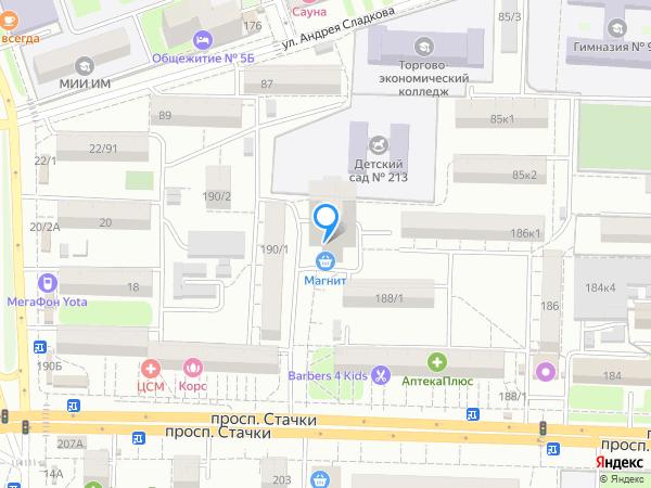 Карта объекта ЖК «Гармония»