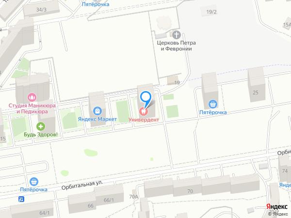 Карта объекта ЖК «НОРД»