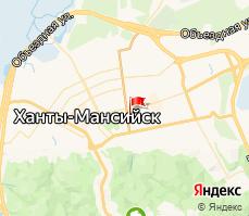 Часть карты города
