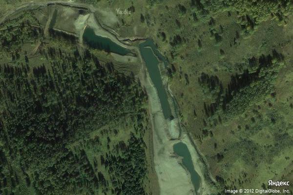 Золотые прииски на реке Николаевка на Яндекс.Картах