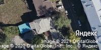 Фотография со спутника Яндекса, улица Горького, дом 11 в Иркутске