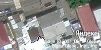 Фотография со спутника Яндекса, Волжская улица, дом 14Б в Иркутске