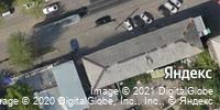 Фотография со спутника Яндекса, Волжская улица, дом 14 в Иркутске