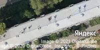 Фотография со спутника Яндекса, Волжская улица, дом 20 в Иркутске
