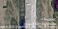 Фотография со спутника Яндекса, микрорайон Северный, дом 8 в Чите