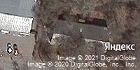 Фотография со спутника Яндекса, Тенистая улица, дом 101 в Благовещенске