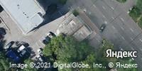 Фотография со спутника Яндекса, улица Дзержинского, дом 45 в Хабаровске