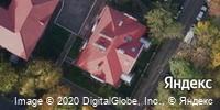 Фотография со спутника Яндекса, улица Серафимовича, дом 7 в Калининграде