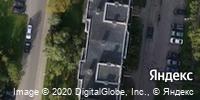 Фотография со спутника Яндекса, Артиллерийская улица, дом 59 в Калининграде