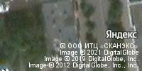 Фотография со спутника Яндекса, улица Максима Горького, дом 37 в Пскове