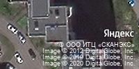 Фотография со спутника Яндекса, проспект Маршала Жукова, дом 68 в Санкт-Петербурге
