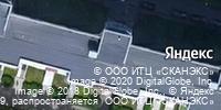 Фотография со спутника Яндекса, улица Ильюшина, дом 1, корпус 1 в Санкт-Петербурге
