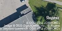 Фотография со спутника Яндекса, Автобусная улица, дом 12А в Санкт-Петербурге