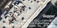 Фотография со спутника Яндекса, набережная реки Фонтанки, дом 76, корпус 2 в Санкт-Петербурге