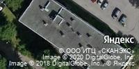 Фотография со спутника Яндекса, проспект маршала Блюхера, дом 12ВП в Санкт-Петербурге
