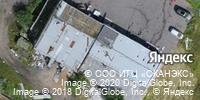 Фотография со спутника Яндекса, проспект Маршала Блюхера, дом 11 в Санкт-Петербурге