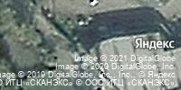 Фотография со спутника Яндекса, улица Пересвета, дом 2 в Брянске