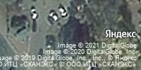 Фотография со спутника Яндекса, Бежицкая улица, дом 2Б в Брянске