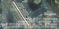 Фотография со спутника Яндекса, улица Пушкина, дом 22 в Брянске