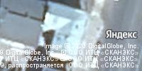 Фотография со спутника Яндекса, бульвар Радищева, дом 14 в Твери