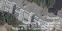 Фотография со спутника Яндекса, улица Косухина, дом 36 в Курске