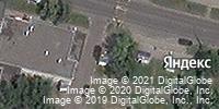Фотография со спутника Яндекса, улица Черняховского, дом 29, корпус 1 в Курске