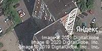 Фотография со спутника Яндекса, улица Карла Маркса, дом 15 в Курске