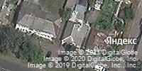 Фотография со спутника Яндекса, улица Маяковского, дом 54 в Курске