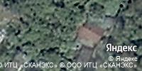 Фотография со спутника Яндекса, улица Красная Гора, дом 21 в Калуге