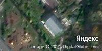 Фотография со спутника Яндекса, Дачная улица, дом 2 в Красногорске