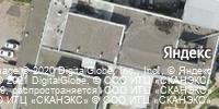 Фотография со спутника Яндекса, улица Пузакова, дом 13 в Туле
