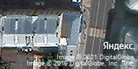 Фотография со спутника Яндекса, улица Сретенка, дом 7 в Москве