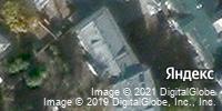 Фотография со спутника Яндекса, Покровский бульвар, дом 8, строение 2А в Москве