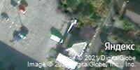 Фотография со спутника Яндекса, улица Ватутина, дом 11, корпус 1 в Старом Осколе