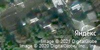 Фотография со спутника Яндекса, Транспортная улица, дом 48А в Старом Осколе