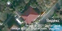 Фотография со спутника Яндекса, улица Прядченко, дом 6 в Старом Осколе