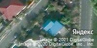 Фотография со спутника Яндекса, улица Прядченко, дом 7 в Старом Осколе