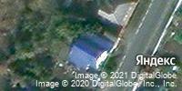 Фотография со спутника Яндекса, улица Прядченко, дом 12 в Старом Осколе