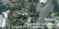Фотография со спутника Яндекса, улица Прядченко, дом 18 в Старом Осколе