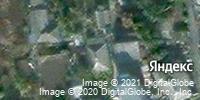 Фотография со спутника Яндекса, улица Прядченко, дом 34А в Старом Осколе