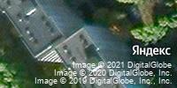 Фотография со спутника Яндекса, микрорайон Макаренко, дом 13 в Старом Осколе