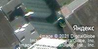 Фотография со спутника Яндекса, микрорайон Макаренко, дом 4 в Старом Осколе