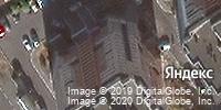 Фотография со спутника Яндекса, микрорайон Дубрава-3, дом 1А в Старом Осколе