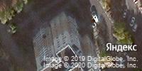 Фотография со спутника Яндекса, микрорайон Дубрава-3, дом 2 в Старом Осколе