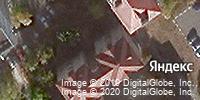 Фотография со спутника Яндекса, микрорайон Дубрава-3, дом 6Б в Старом Осколе